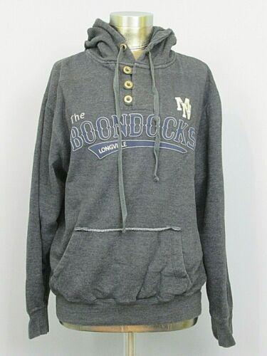 The Boondocks Longville MN Gray Hooded Sweatshirt