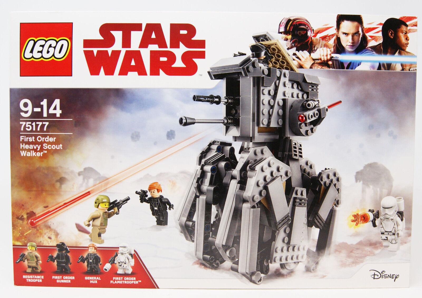 Lego - 75177 - Star Wars - First Order Heavy Scout Walker - 554 Teile