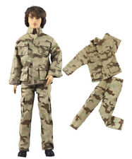 3 Pcs Set Dll Clothes//Outfit//Top+vest+pants For 12 inch Ken Doll Clothes B55