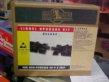 LIONEL,,,,# 22962----UP GRADE , DELUXE, GP-9--B UNIT, BLACK TRUCKS