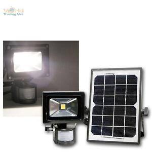 Solar-LED-Fluter-mit-Bewegungsmelder-und-Akku-Aussen-Strahler-10W-Highpower
