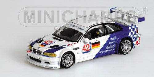 1 43 BMW M3 GTR BMW Motorsport  ELMS  Jarama 2001  Lehto   J.Muller