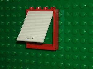 WHITE Door Frames Lego 11 x Castle Arched Stepped Sections