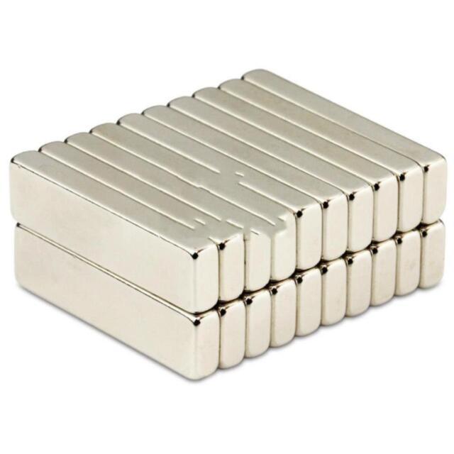 Neodym Quadermagnete Würfel klebende 3M Quader Güte N45 Menge und Größe wählbar