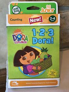 NEW-LeapFrog-Tag-Junior-Dora-The-Explorer-Dora-1-2-3-Counting-Age-2-Leap-Frog
