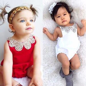 Newborn-Infant-Baby-Girl-Sumemr-Romper-Jumpsuit-Bodysuit-Outfits-Sunsuit-Clothes