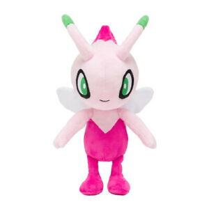 Pokemon-Plush-doll-034-Shiny-Celebi-034-limited-Pokemon-center-From-Japan-NEW