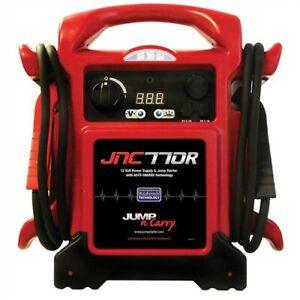Clore-1700-Peak-Amp-Premium-12-Volt-Jump-Starter-JNC770R-with-charging-cord