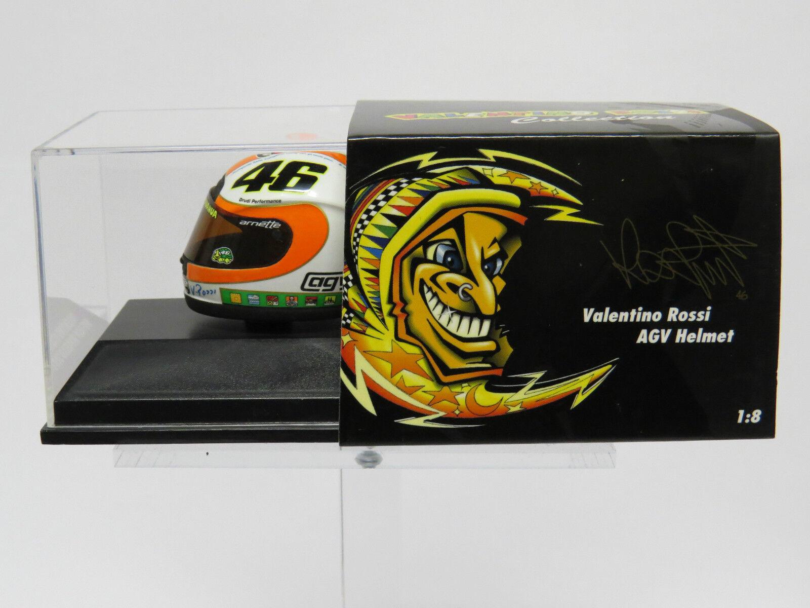 Valentino Rossi 1 8 MOTO GP 2002 Mugello Minichamps 397060086 Helmet
