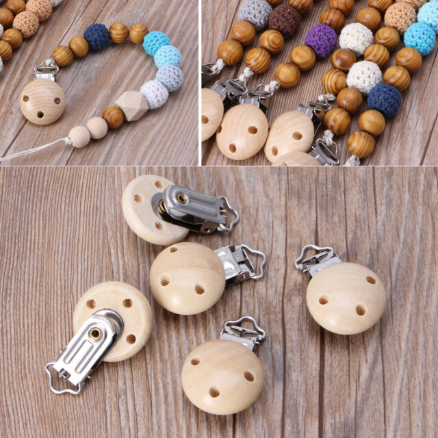 10 Pieces Metal Suspender Holders Cloth Accessories Garment Clamp Pacifier Clips