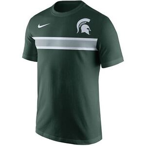 Image is loading Michigan-State-Spartans-Men-039-s-Shirt-Nike-