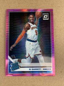2019-20-Optic-RJ-Barrett-Rated-Rookie-Pink-Hyper-Prizm-178-Knicks-Panini-Donruss