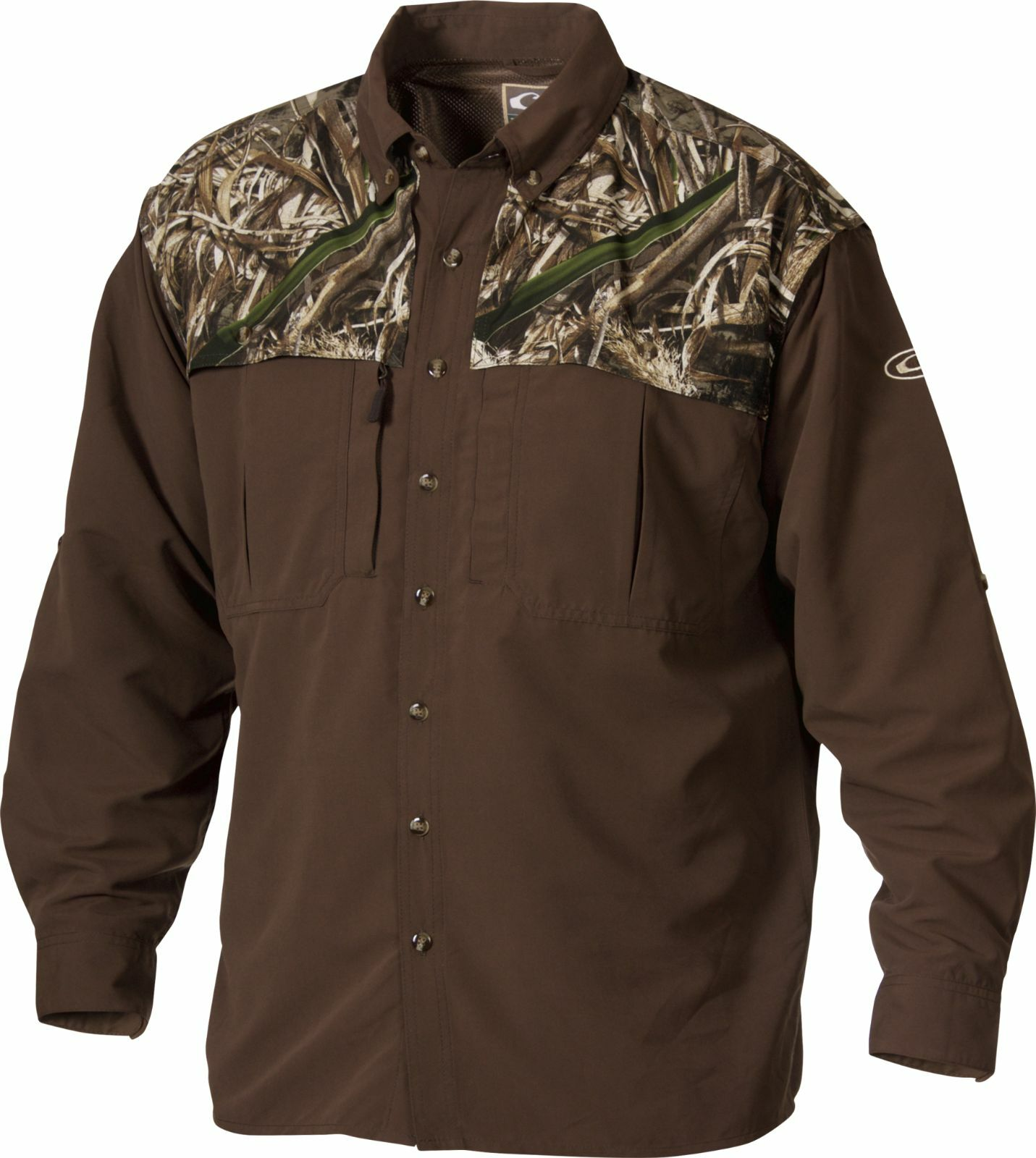 Drake Camo Two Tone Long Sleeve Wingshooter Max-5 Small Waterfowl Hunting New