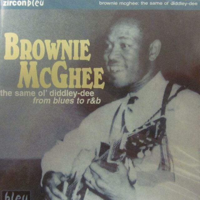 Brownie McGhee(CD Album)The Same Ol' Diddley-Dee -Zircon/Diamond-Bleu 5-New