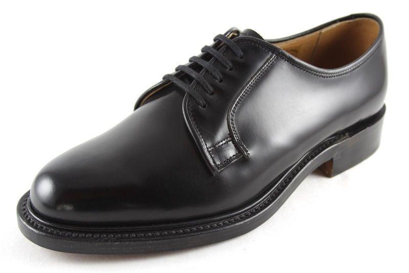 Loake '771b' De Cuero Negro Cordones Hombres Zapatos Con Cordones Negro 96bec3