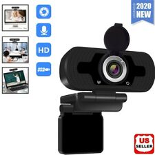 1080P Full HD USB Webcam for PC Desktop & Laptop Web Camera with Microphone/FHD