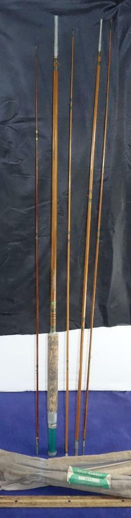 Vintage JC Higgins No. 3001 Four Piece + 1 Bamboo Fly Rod