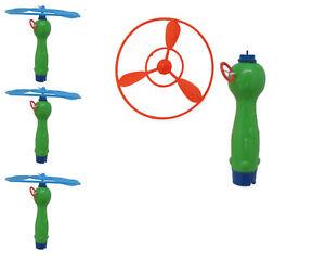 Spielzeug für draußen Flugkreisel fliegende Untertasse Hubschrauber Spielzeug Klassiker draussen NEU
