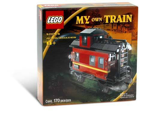 Lego Train 9V My Own Train 10014 Caboose Nuovo Sealed
