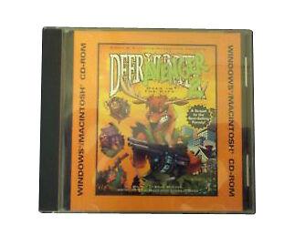Deer Avenger 2 Windows Mac Game CD Rom