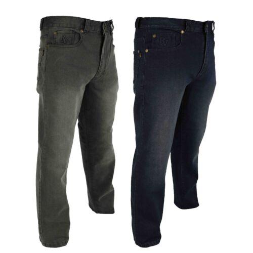Raphael Valencino 4 vías extra Stretch Jeans para Hombre Entallada piernas con luz se descolora
