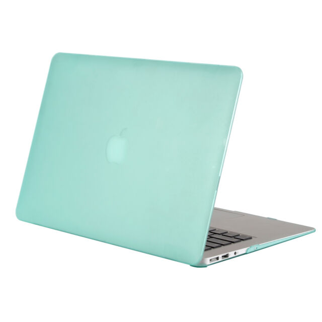 promo code 6658e d66e0 Mosiso Laptop Lid Rubberized Shell Case Cover for MacBook Air 11 13 Inch  MINT Green Air 11.6