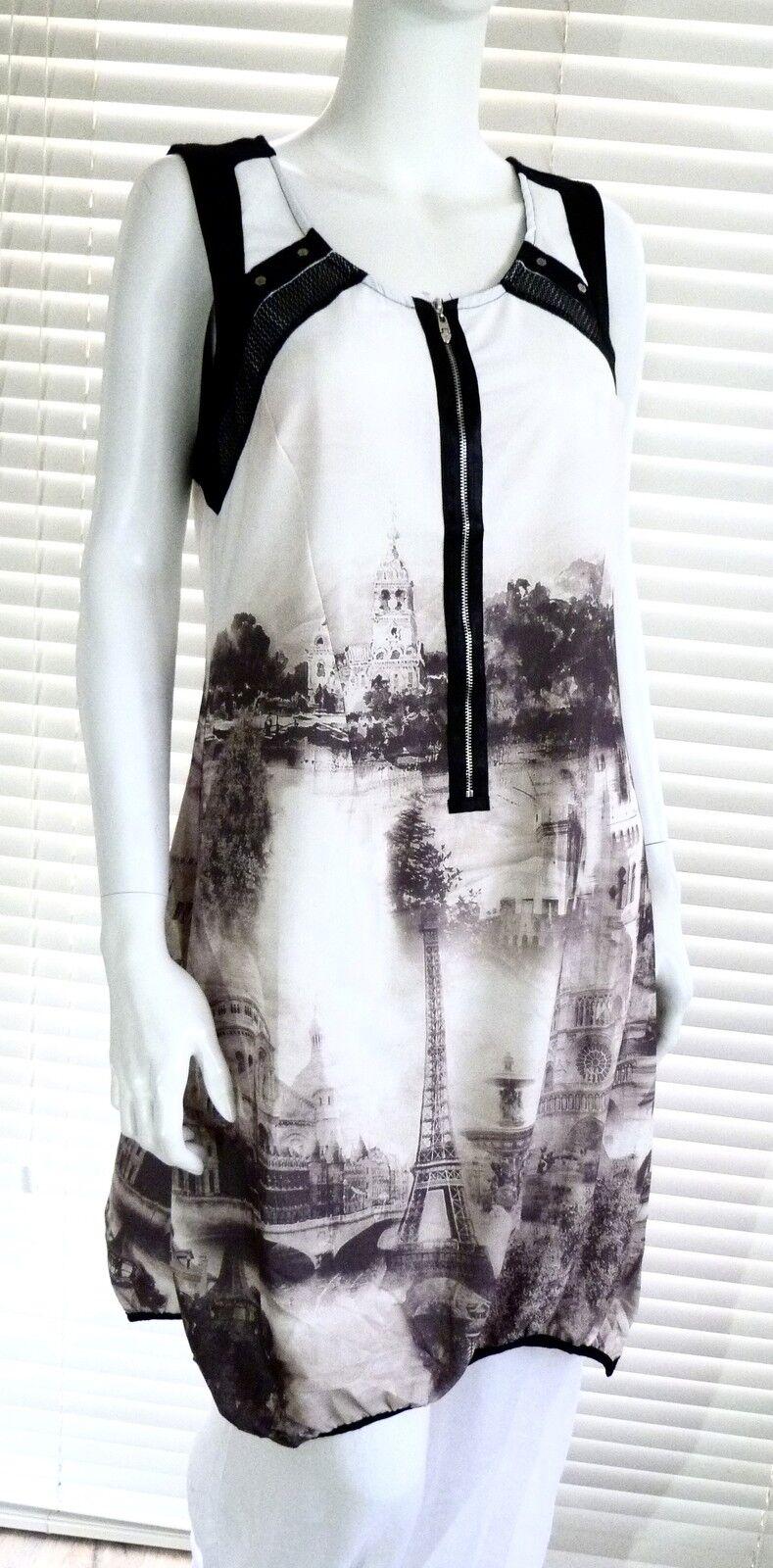 Super Stylish C'Fait Pour Vous printed tunic dress - Cherise