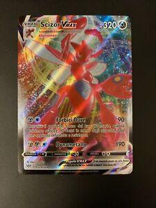 Pokemon Scudo E Spada Fiamme Oscure  Rara Foil Holo Full Art 119/189 Scizor VMAX