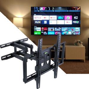 ce77ee844301 Dual Arm Tilt TV Wall Mount 32 37 40 42 46 47 50 52 55 56 For ...