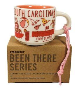New-Starbucks-Mini-Mug-Been-There-Series-South-Carolina-Christmas-Ornament-2oz