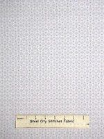 Christmas Snowflake Circle Gray Cotton Fabric Studio E Winter Essentials Yard