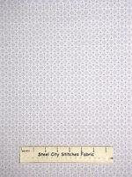 Christmas Snowflake Circle Gray Cotton Fabric Studio E Winter Essentials Yard