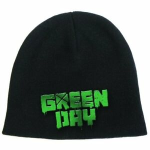 Green Day Beanie Hat Zuccotto Logo Official Merchandise