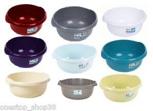 round plastic washing up bowl small medium or large. Black Bedroom Furniture Sets. Home Design Ideas