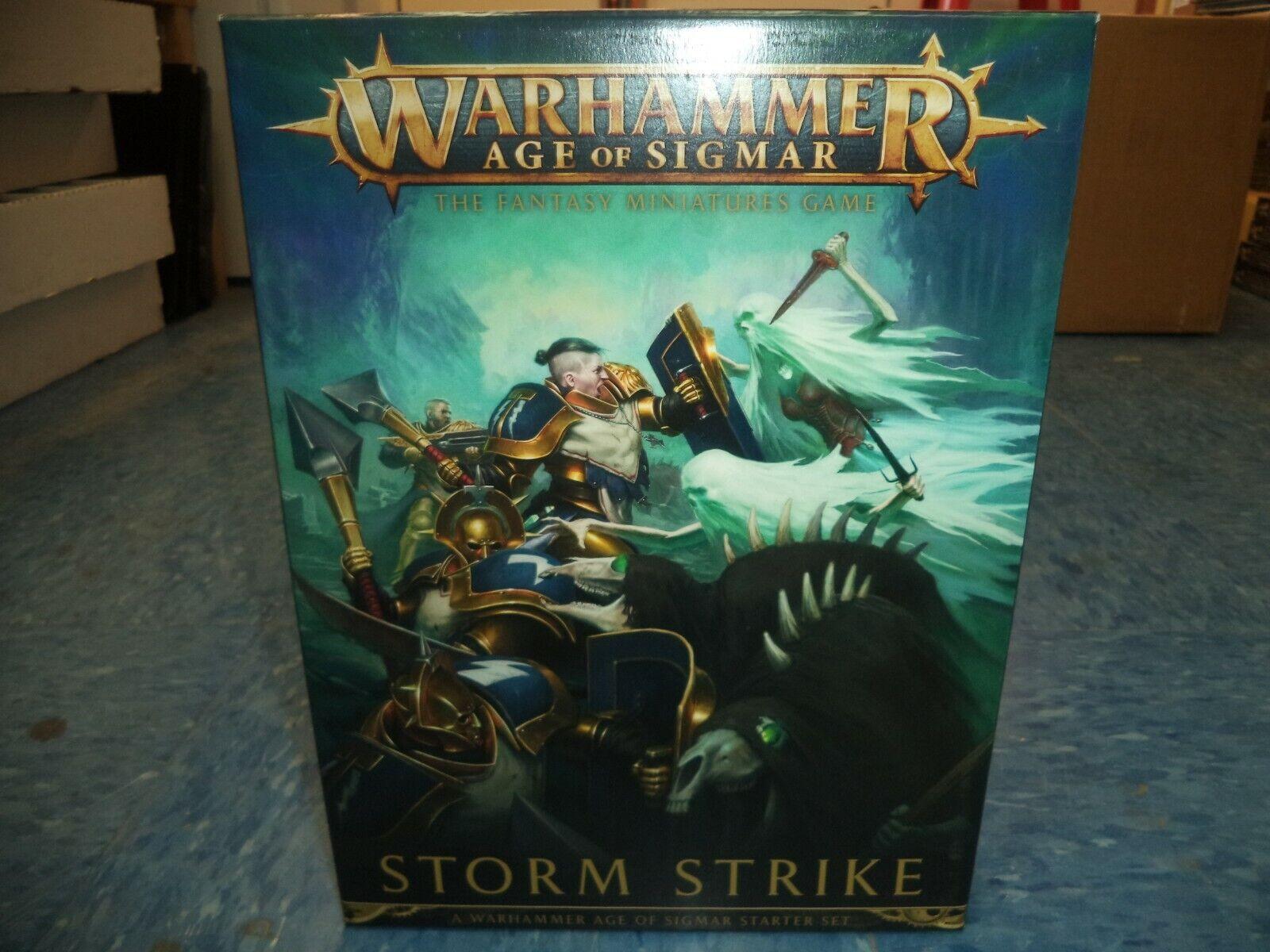 Warhammer edad de Sigmar tormenta huelga en Caja Set Taller De Juego Fantasía  nuevo