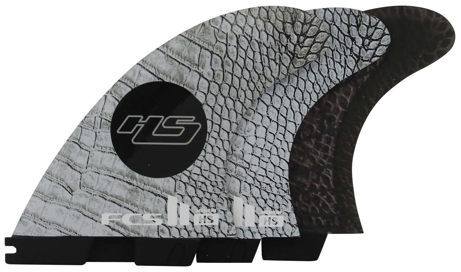FCS II HS Performance Core Carbon Tri Fin Set - Medium - New