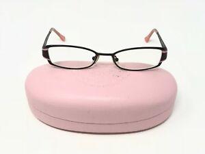 8c7ab20c2d Juicy Couture Behave EYEGLASSES Eye Glasses W  Case 50-17-135 Black ...