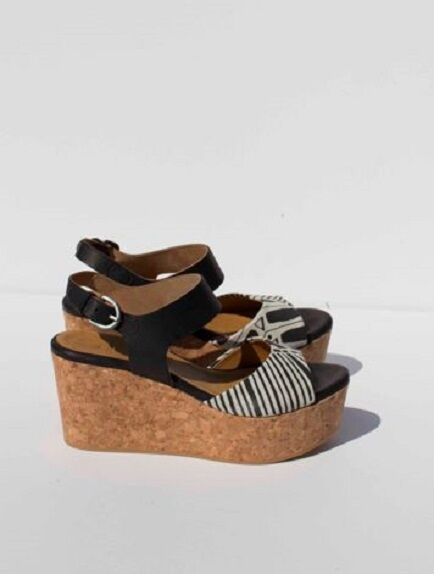 COCLICO MAGGIE WEDGE 39.5 Anthropologie Sandals  395 Platform Flatform Flatform Flatform Heels 2fc9d1