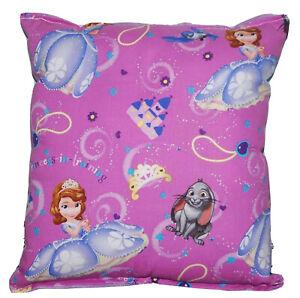 Sofia-The-First-Pillow-HANDMADE-Disney-Sofia-Pillow-Royal-Princess-New-Made-USA