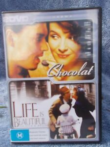 CHOCOLATE-LIFE-IS-BEAUTIFUL-2-DISC-SET-JULIETTE-BINOCHE-JOHNNY-DEPP-DVD-M-R4