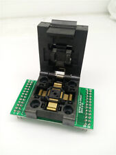 QFP48 TQFP48 LQFP48 Clamshell Pitch 0.5mm Programming Test Socket FPQ-48-0.5-06