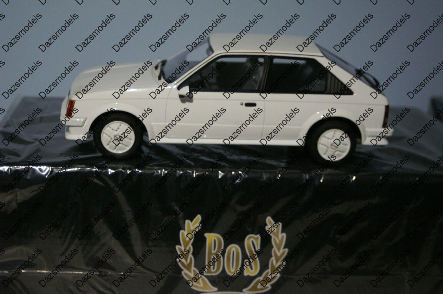 Bos Models Vauxhall Opel Astra Kadett GTE White BOS070 1 18 Resin