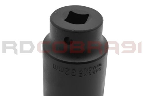 """1 Pc 32 MM 1//2/"""" Drive Deep Spindle Axle Nut Remover Socket 6-Point Black Oxide"""