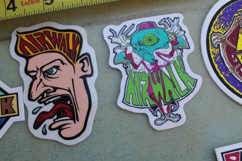 Chaussures 10 Pirate Neon Og Psycho Sticker Lot Airwalk 80's Skateboard Alien De De 7qT7Xd