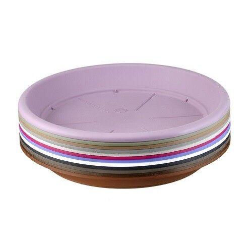 26cm Mauve Fiori Sottovaso Saucer//Contemporary Tray//Accessory