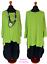 Lagenlook-Long-Kasten-Basic-Shirt-Tunika-Jersey-7-Farben-46-48-50-52-54-56-58-60 Indexbild 8