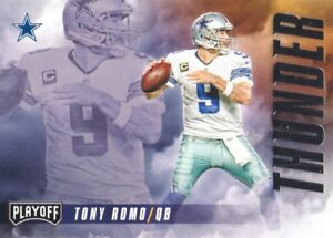 Details About 2016 Playoff Thunder And Lightning Tl Rb Tony Romo Dez Bryant Cowboys