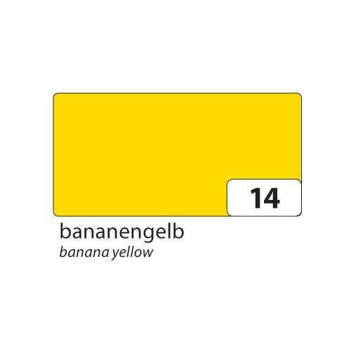 25 Bogen 50x70cm bananengelb folia 61//25 14 Fotokarton 300g//m² bananengelb