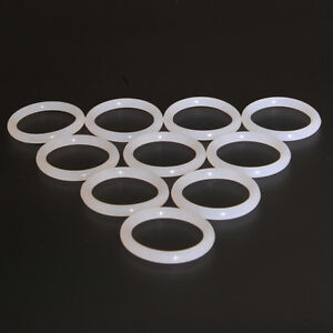 100pcs 28mm Vacuum Tube Dampers Silicone O-Ring For EL34 6V6 6SN7 Audio AMP