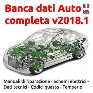 Banca Dati Auto Completa 2018 con Tempario + Guida Installazione ITA EN